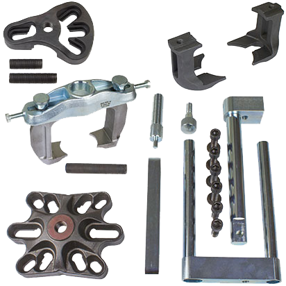 Bearing removal and replacement tool set front Mercedes Sprinter